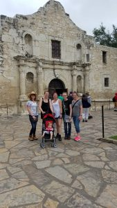 Our group at The Alamo.