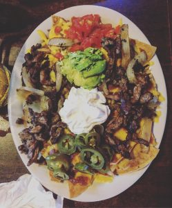 Erica's nachos at Mezquite