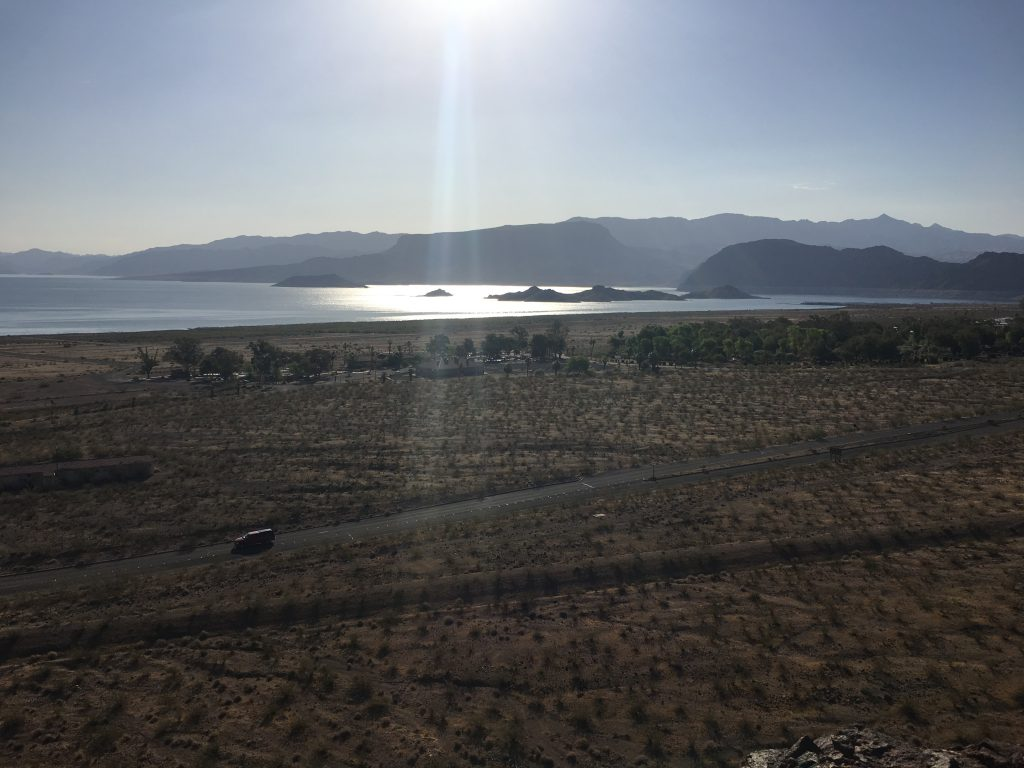 Overlook of Lake Mead in Boulder City, NV