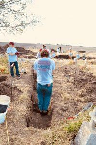 Jordan deepening the trench floor