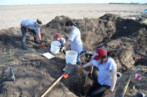 UIndy team working to uncover two burials