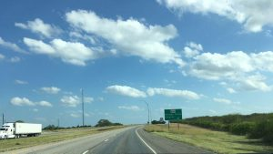 It was a beautiful drive down Hwy 281.
