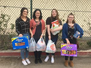 Donating to the Respite Center