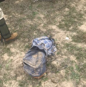 Backpacks that were left behind