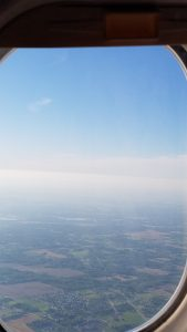 Such a clear day to fly to Texas!