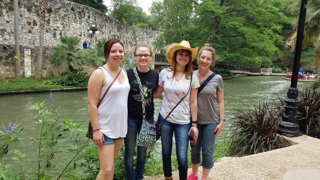 At the River Walk.
