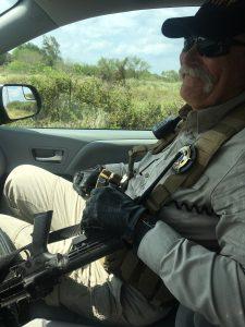 """""""Deputy Don"""" and his big gun"""
