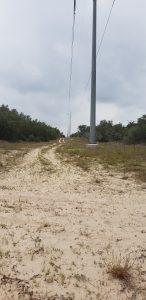 A sandy path on North La Copa Ranch